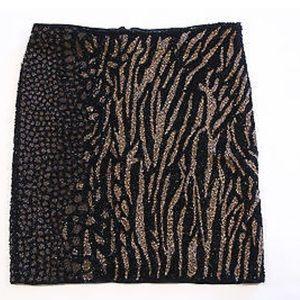 AllSaints Shia mini skirt